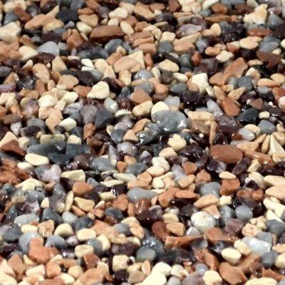 Terralith Marmor-Steinteppich 2-4 mm Orobico für 1qm incl. Bindemittel