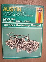 Austin A35/A40 Owner's Workshop Manual