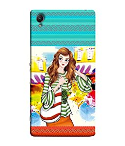FUSON Designer Back Case Cover for Sony Xperia Z4 Compact :: Sony Xperia Z4 Mini (Family Friends Happiness Together Sister )