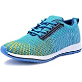 Deals4you Premium Quality Black/Blue Sports Running Shoes Mens Boys