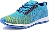 #8: Deals4you Premium Quality Black/Blue Sports Running Shoes for Mens and Boys