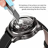 KIMILAR Huawei Watch 2 Sport / Classic Screen Protector (2 Pack), [9H Hardness] [Crystal Clear] Tempered Glass Screen Protectors for Huawei Watch 2 Smartwatch