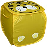 THE CARDAMOM TREE LAUNDRY BASKET CUM TOY SACK WITH CARTOONS FOR KIDS RETURN GIFT FOR BIRTHDAYS (Colour and Print might vary according to availability)