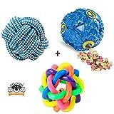 BLACK DOG Toys for Pets Pet Treat Balls, Interactive Food Treat Dispensing Pet