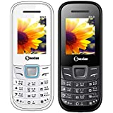 Snexian BOLD 1200 Feature Mobile Phone Combo Of Two Mobiles(White +Black) With 1.8 Inch, Dual Sim, Open FM, 1000 Mah Battery, BLUETOOTH, CAMERA, Upto 16 GB Expandable Memory, BIS CERTIFIED & 1 YEAR WARRANTY