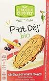 Moulin Pivert P'Tit Déj Céréales/Fruits Rouges Bio 190 g