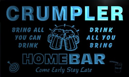 q09733-b-crumpler-family-name-home-bar-beer-mug-cheers-neon-light-sign