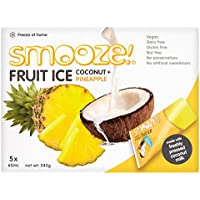 Smooze! Fruchteis Ananas-Kokosnuss - 325ml (5x65ml)