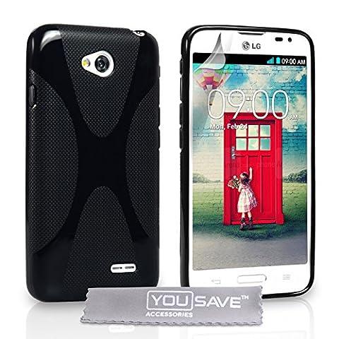 Coque Lg 70 - Yousave Accessories Coque LG L70 Etui Noir