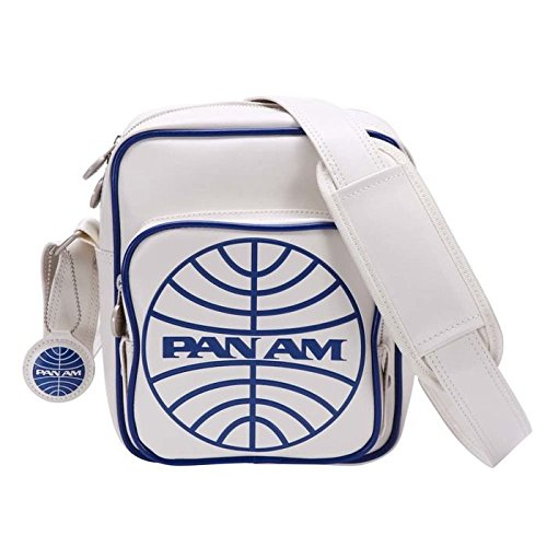 Pan Am Maschi Originals Malay 100% PVC Borse Off / Bianco