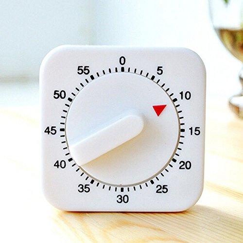 60Minuten Küche Kochen Timer Alarm Ring Uhr Mechanisches Zählwerk Aufzieh-London Heritage - Ring-küchen-timer