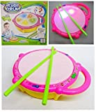 Blossom Multicolored Flash Drum Toy with...