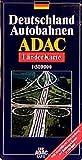 ADAC Karte, Deutschland Autobahnen -