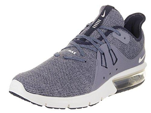 Nike Herren Air Max Sequent 3 Laufschuhe Dunkelblau (Obsidian/Dark Sky Blue/Summit White)