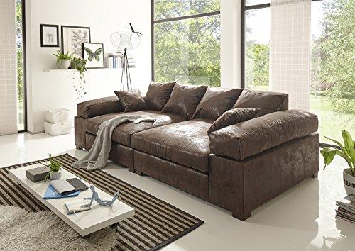 BIG Sofa -Vintage Braun – Modell Hercules