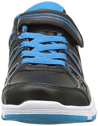 Kappa Ulaker Sneaker, Ragazzo Nero (C35/Black/Turquoise)