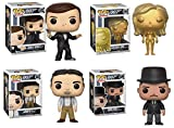 - Lote de 4 Figuras Pop Collection Funko James Bond (Golden Girl + Jaws + ODDJOB)