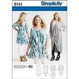 Simplicity Pattern 8141 Plus tamaño túnicas