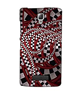 Fuson Designer Back Case Cover for Lenovo A2010 (Designer Pattern Design Art)