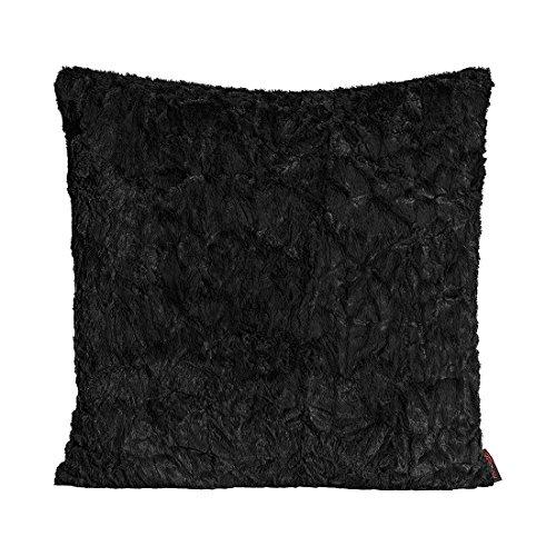 Fluffy Kissenhülle 70 x 70 cm Farbe (01 Schwarz) 1 Stück