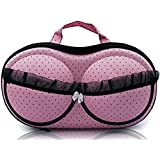 Clothsfab Lingerie Nylon Bra Bag Travel Organizer Small Compact Bra,Organizer Case,Travel Bag Bra Storage Bag,...