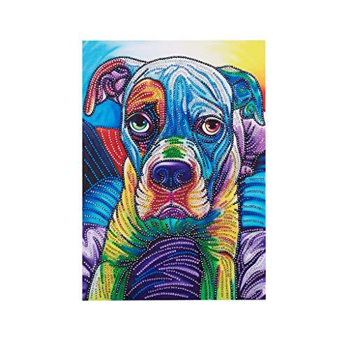 Besttse Dog 5D Special Shaped Diamond Painting Stickerei Needlework Strass Kristall Cross Craft Stitch Kit DIY (Halloween-cross Stitch Kits)