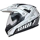 Wulf Prima X Dual Sport Helmet XL White