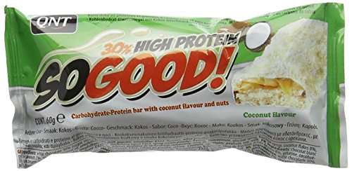 QNT 60 g White Chocolate and Coconut So Good Protein Bar