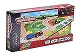 Majorette 212056410 - Creatix Playmat, Rutschfeste Spielmatte inkl. Einem Auto, 96 x 51,2 cm, SOS, Landwirtschaftm, Konstruktion/Flugplatz