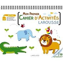 Mon premier cahier d'activités Larousse 4-5 ans