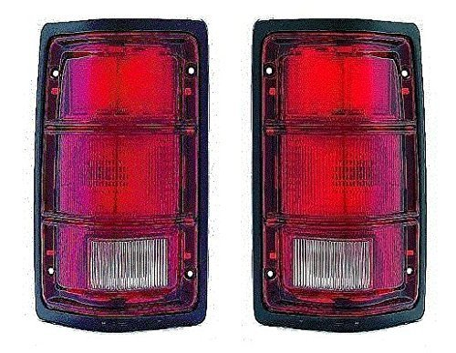 88-89-90-91-92-93-94-95-96-dodge-dakota-taillight-pair-set-new-taillamp-driver-and-passenger-by-not-