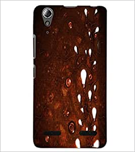 PrintDhaba Light and Wires D-1165 Back Case Cover for LENOVO A6000 PLUS (Multi-Coloured)
