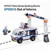 Preisvergleich für Goolsky XIPOO Polizei Serie 188 stücke XP93512 Outlaw Bausteine Lernspielzeug