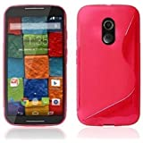 MOTOROLA MOTO X + 1 (2ND GEN.) S-LINE SILICONE GEL IN PINK COVER CASE FROM GADGET BOXX