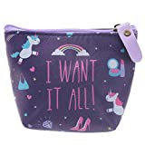 "Einhorn Kosmetiktasche/ Geldbörse ""I WANT IT ALL!"""