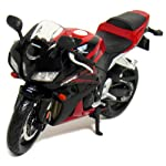 The product in display is an scaled down model of Honda CBR 600RR, which is made from metal and is finished in an attractive red color. Apart from the above, this product does not require batteries, is recommended for indoor use by children equal to ...
