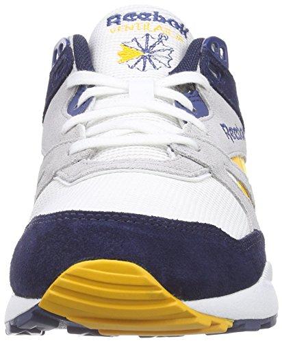 Reebok Ventilator Athletic Herren Sneakers Weiß (White/Collegiat Navy/Lgh Solid Grey/Blue)