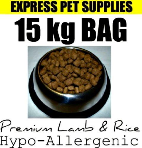 15kg Premium Lamm & Reis HYPOALLERGEN glutenfrei komplett Hundefutter