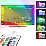 Ruban à LED RGB pour HDTV, Ubenmart USB Imperméable Flexible Rétro-éclairage, Lampe à Rayons LED Multicolores avec Télécommande