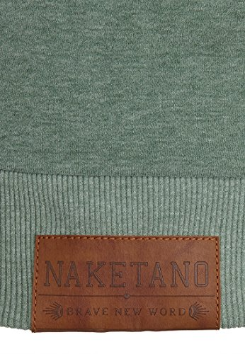 Naketano Female Hoody Darth X Leaf Green Melange