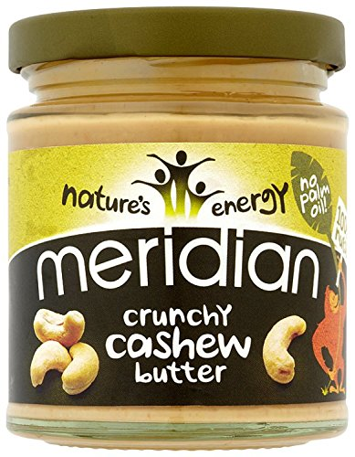 Meridian Natural Crunchy Cashew Butter 170 g (Pack of 3) Test