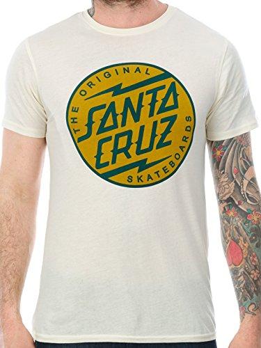 Santa Cruz T-Shirt: Bolt Dot Colour YL 'Weiß'