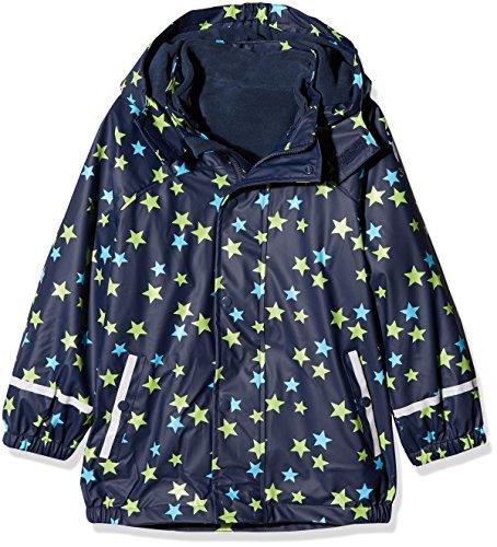 Sterntaler Kinder Unisex gefütterte Regenjacke, 3in1 Multifunktionsjacke, Alter: 3-4 Jahre, Größe: 98, Blau (Trenchcoat Teen)