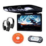 Best Flip Down Dvd Players - Xtrons® 15.6 Inch HD Digital Widescreen Car Overhead Review