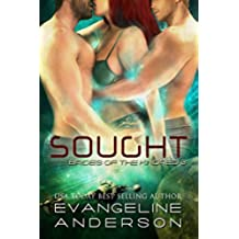 Sought: (BBW Alien Warrior Menage Science Fiction Romance) (Brides of the Kindred Book 3) (English Edition)