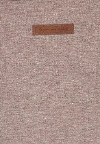 Naketano Female Zipped Jacket Every world knows it Djubre Melange