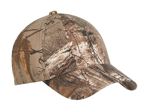Port Authority® Pro Camouflage Series Garment-Washed Cap. C871 Realtree Xtra -