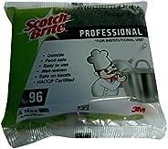 3M Scotch Brite Professional General Purpose Scrubbing Pad (3 in x 4 in), (4 Packs of 4 pieces each)