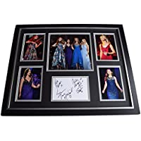 Sportagraphs Celtic Woman SIGNED Framed Photo Autograph Huge display Music 2018 AFTAL & COA Perfect Gift