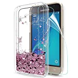 LeYi Galaxy J1 2016 Case withScreen Protector, Girl Women